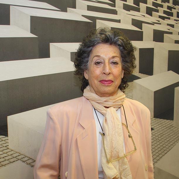 Lea Rosh, Fernsehjournalistin, Autorin, Publizistin, Foto: VAP-Büro