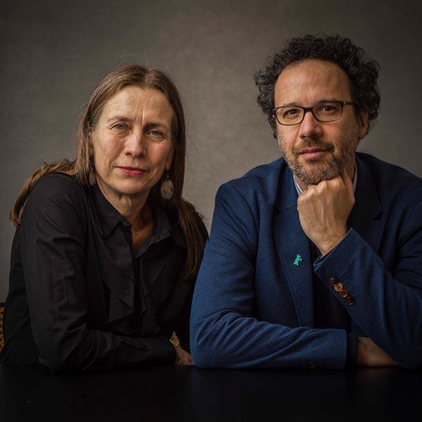 Mariette Rissenbeck (Geschäftsführerin der Berlinale) und Carlo Chatrian (Künstlerischer Direktor der Berlinale), Foto: Hermann Bredehorst