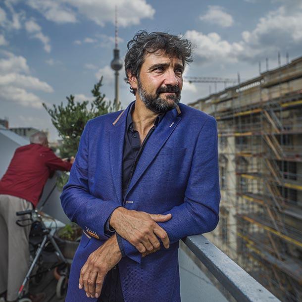 Paul Spies, Kunsthistoriker und Direktor der Stiftung Stadtmuseum Berlin, Foto: Hermann Bredehorst