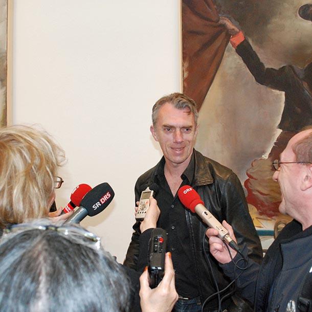 VAP-Gespräch mit dem Maler Neo Rauch, Leipzig