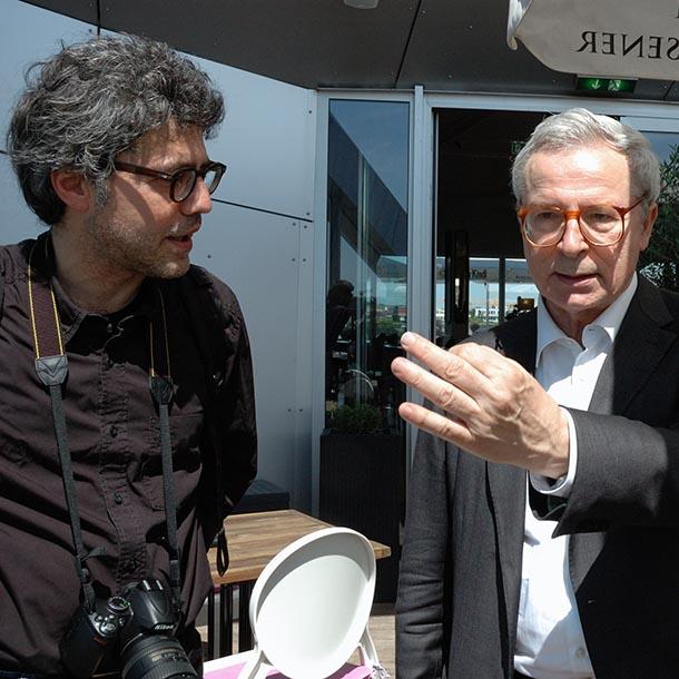 Franco Stella, Architekt, Foto: Emilio Esbardo