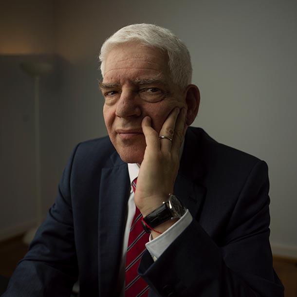 Josef Schuster, Zentralratspräsident, Foto: Hermann Bredehorst