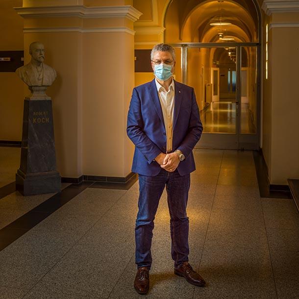 Prof. Lothar Wieler, Präsident vom Robert Koch-Institut, Foto: Hermann Bredehorst