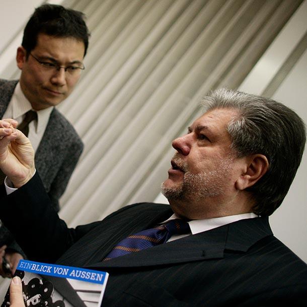 Kurt Beck 2006, Bundesvorsitzender der SPD von 2006-2008, Foto: Hermann Bredehorst