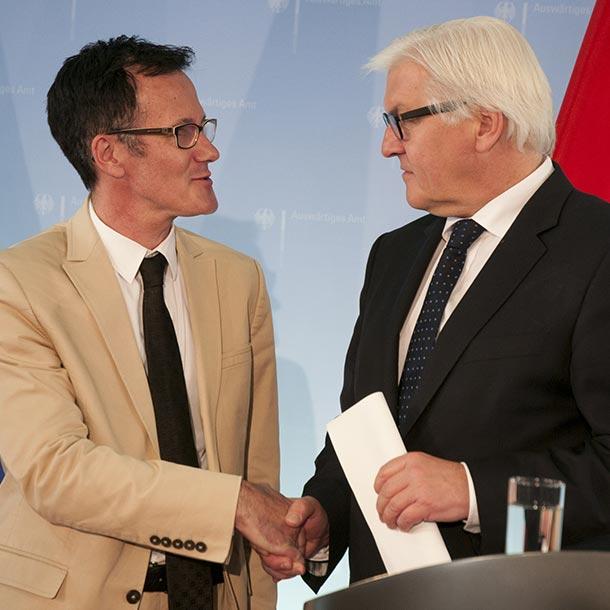 Frank-Walter Steinmeier, Bundespräsident, Foto: Emilio Esbardo