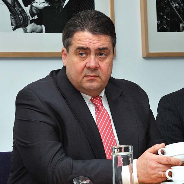Sigmar Gabriel, Bundesvorsitzender der SPD von 2013-2018, Foto: Emilio Esbardo