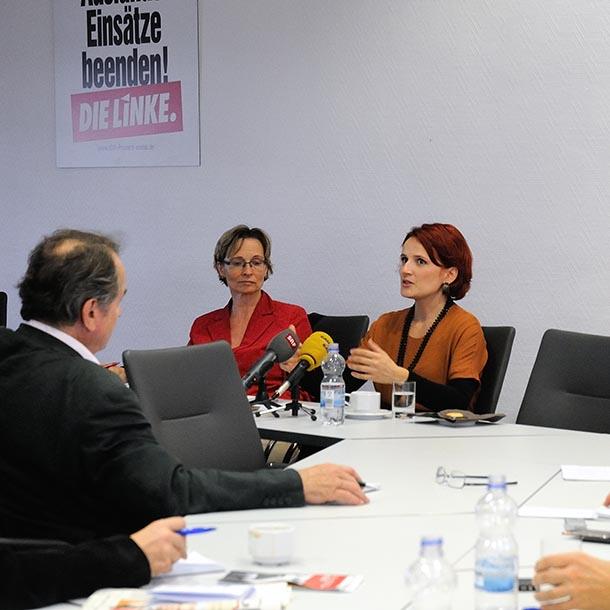 Katja Kipping, Parteivorsitzende Die Linke 2012-2021, Foto: Emilio Esbardo