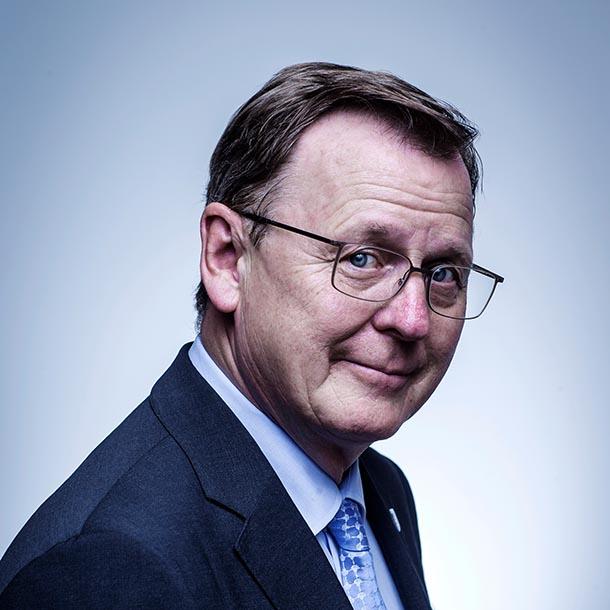 Bodo Ramelow, Thüringer Ministerpräsident, Foto: Hermann Bredehorst