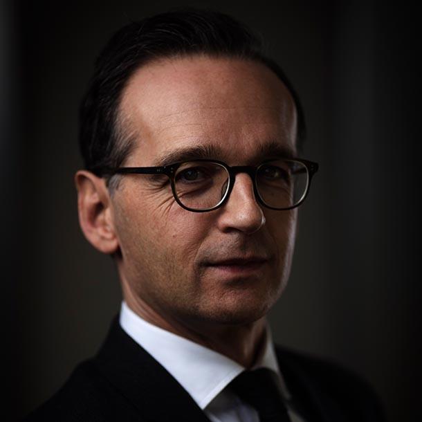 Heiko Maas, Bundesaußenminister, Foto: Hermann Bredehorst
