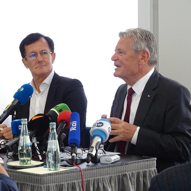 Joachim Gauck, Bundespräsident 2012-2017, Foto: Hermann Bredehorst