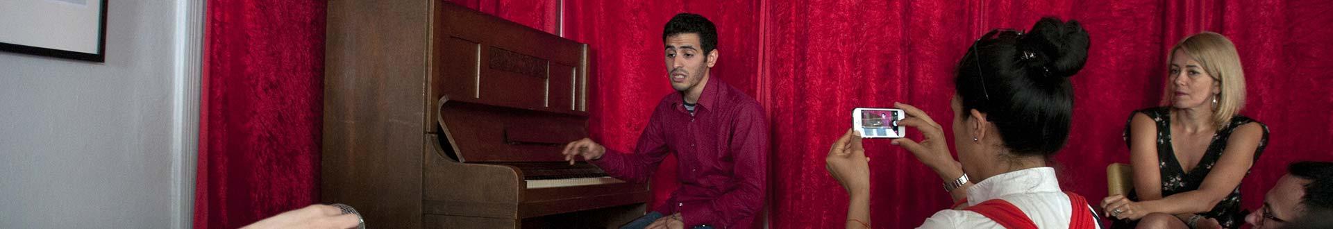 Aeham Ahmad, Pianist