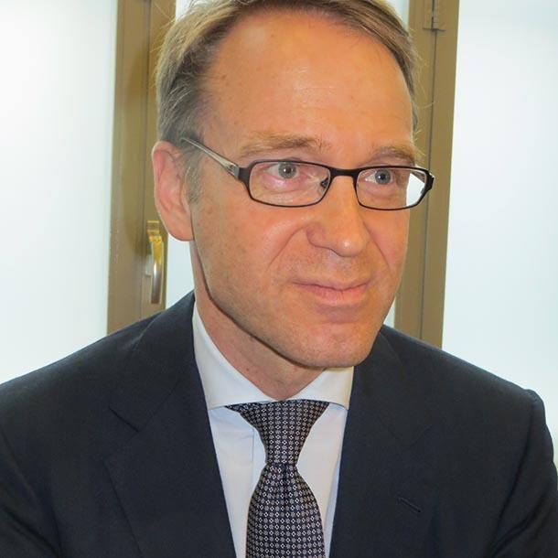 Jens Weidmann, Präsident der Deutschen Bundesbank, Foto: VAP-Büro