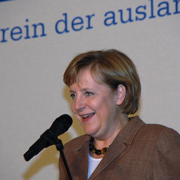 Angela Merkel beim VAP-Empfang 2006