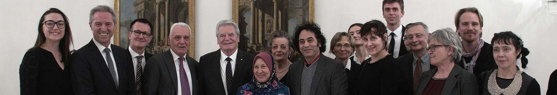 VAP beim Bundespräsidenten im Schloss Bellevue