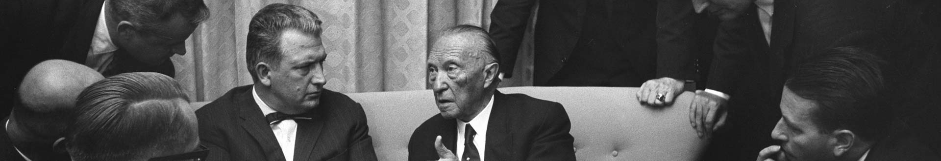 VAP mit Konrad Adenauer 1963